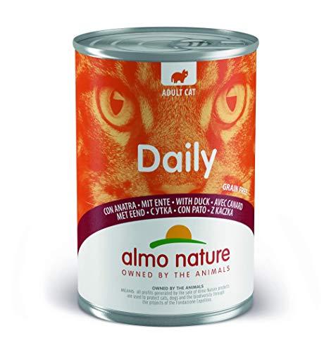 almo nature Dailymenu con Anatra Umido Gatto Premium Grain Free - 24x400 g