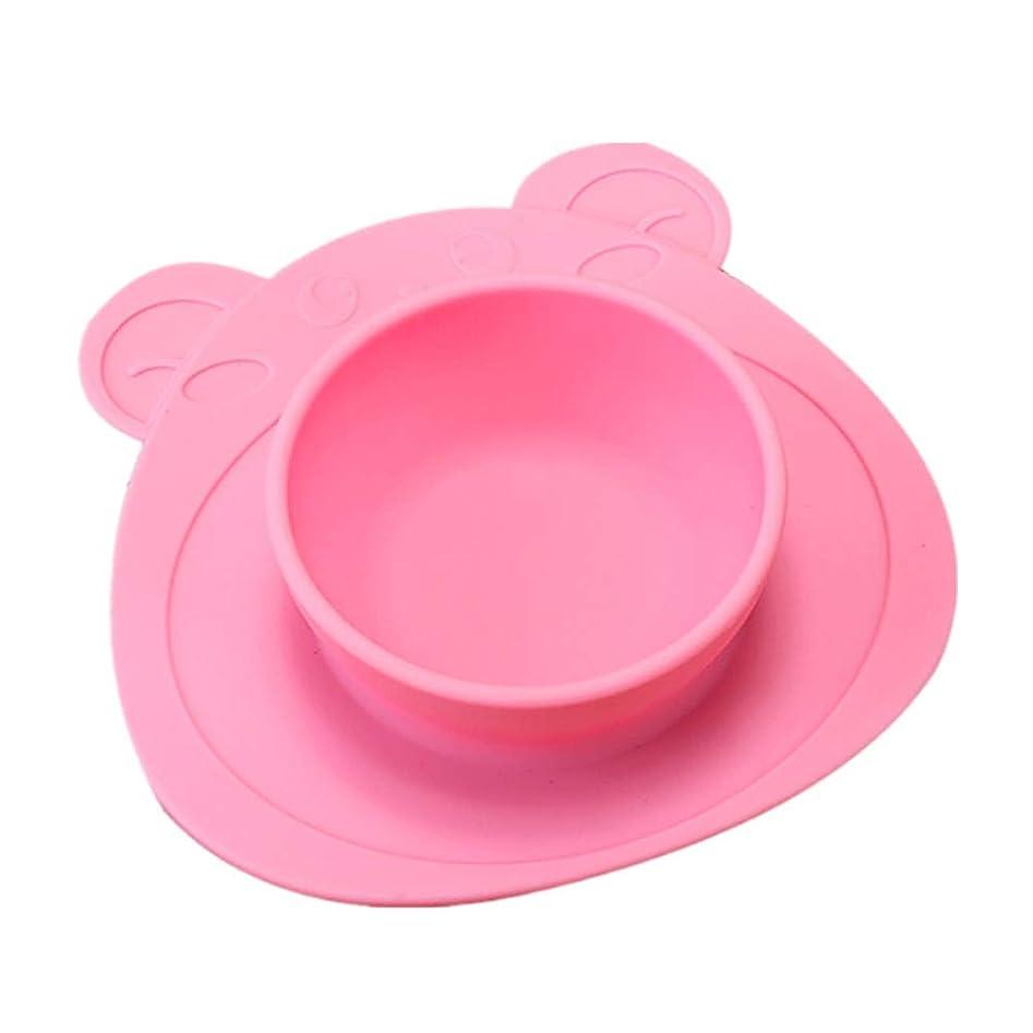 コメントたとえ環境Lazayyii 子供ワンピースシリコーンプレースマットプレート皿フードトレイテーブルマット用赤ちゃん幼児 (ピンク)