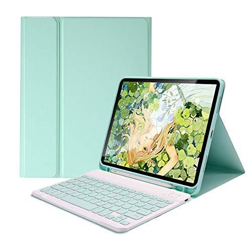 Chnrong Funda para tablet con teclado, 10,2 pulgadas con...