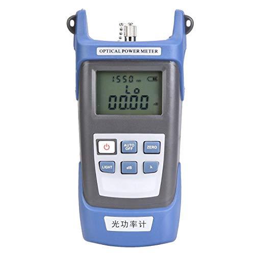 Medidor de potencia óptica -70 ~ + 3db Tres en uno Medidor de potencia integrado de fibra óptica de alta precisión Probador de fuente de luz(Fiber Optical Power Meter)