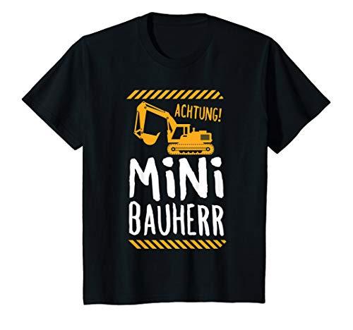 Kinder Mini Bauherr Hausbau Richtfest Geschenk T-Shirt