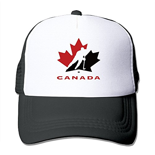 Wdskbg Hockey Canada Mesh Hat Trucker Baseball Cap (5 Colors) Unisex13