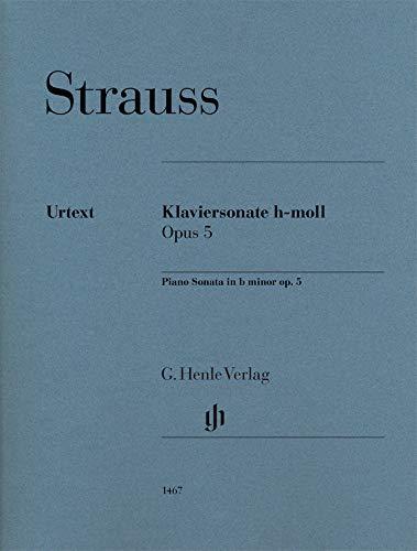 Piano Sonata b minor op. 5: Instrumentation: Piano solo