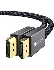 iVANKY DisplyPort - DisplayPort ケーブル(1M/2M/3M DP1.2ver 4K@60Hz)