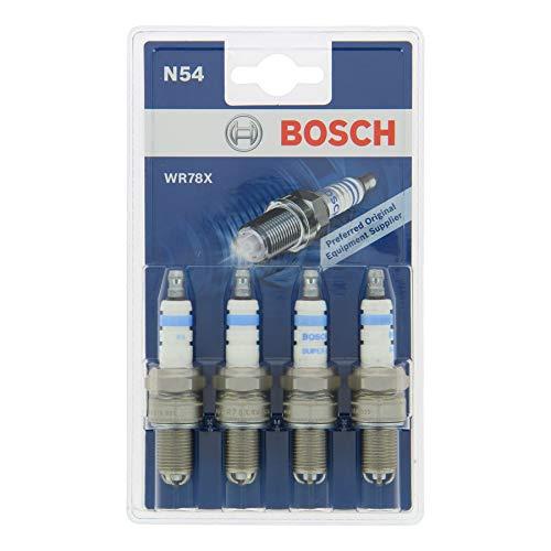 Bosch 0242232804 Zündkerze Super 4 WR78X-KSN 504 / N54-4er Set