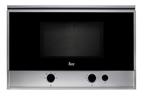 Teka MS 622 BI Microondas sin grill, 1400 W, 22 litros, Otro, Gris, gris