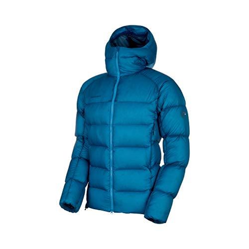 Mammut Herren Chaqueta Meron In Hooded Hombre Mantelkleid, Bleu Saphir/bleu Sarcelle (Sapphire/Wing Teal), M