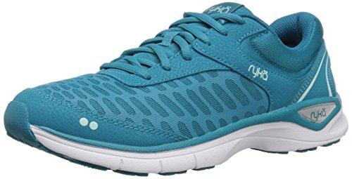Ryka Women's RAE Walking Shoe, Blue, 9.5 M US