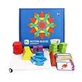 QZPM Bloques De Patrones Juguetes para Niños De Madera Tangram Juguetes Formas Geométricas Montessori Tangram Juguetes Educativos Juegos