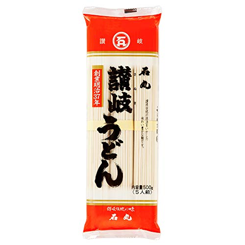 石丸製麺 讃岐うどん 500g×5袋