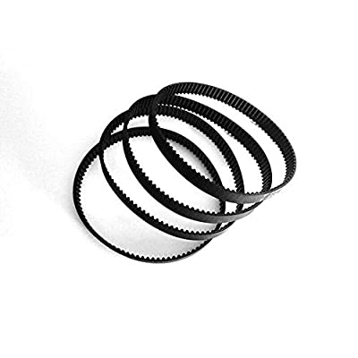 4pcs GT2 Closed Timing Belt Loop Synchronous 6mm Width for Pulley CNC 3D Printer - 110mm