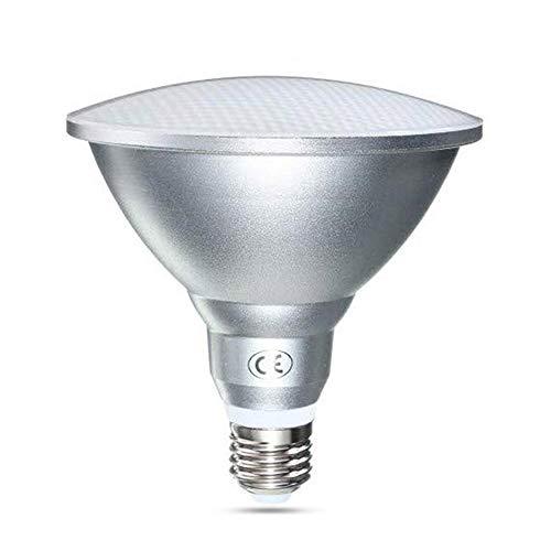 Außenlampe PAR38 LED E27 18W Kaltweiß 6000K, IP65, 1500LM, Ersetzt Halogenstrahler 150W, 120 Grad, Nicht Dimmbar, E27 PAR38 Strahler LED mit Gewind für Gartenhaus/Wandlampe/Deckenlampe, 1er-Set