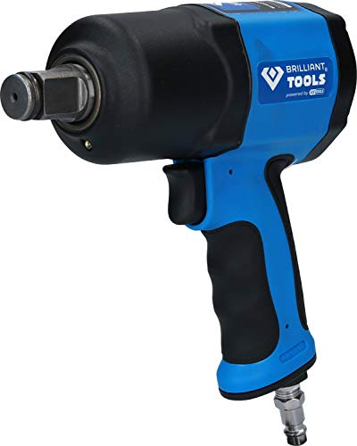 BRILLIANT TOOLS BT160200 3/4 Zoll Druckluft-Schlagschrauber, 1.800 Nm [Powered by KS TOOLS]