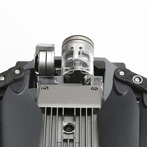 Milageto Protezione della Fotocamera Morsetto di Bloccaggio del Giunto Cardanico Fibbia del Coperchio Dell'obiettivo della Fotocamera per DJI Mavic