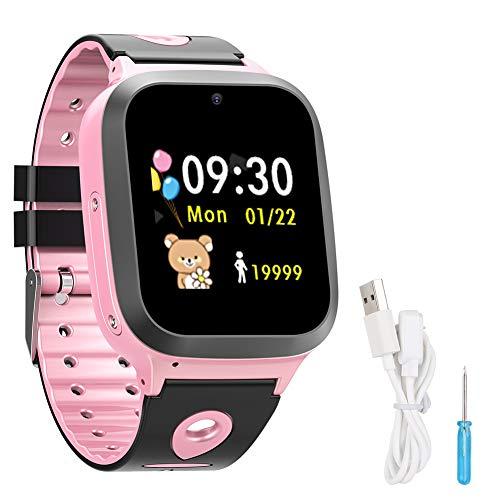 GAESHOW DS61 GPS + LBS Doble posicionamiento Impermeable Smart Children Phone Watch Reloj GPS