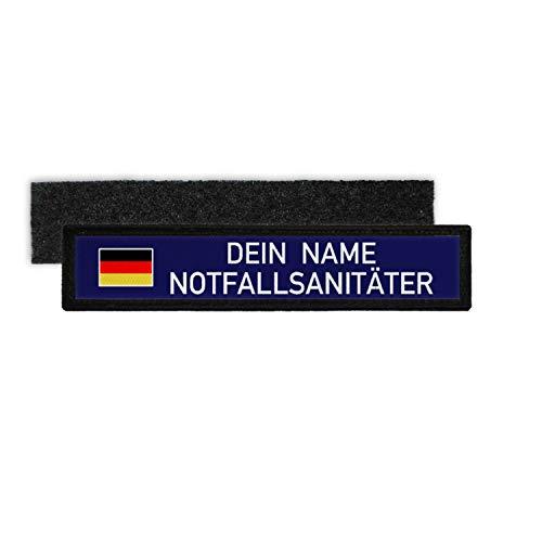 Copytec NOTFALLSANITÄTER Namen-Schild Patch Bundeswehr Sanitäter Deutschland #31652
