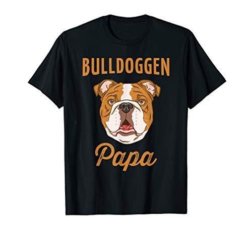 Herren Bulldoggen Papa Geschenk | Englische Bulldogge T-Shirt