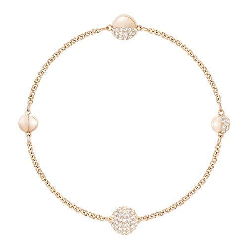 Swarovski Remix Collection Strand Armband, Damenarmband mit Funkelnden Swarovski Kristallen