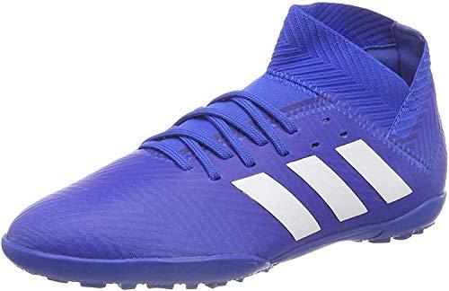 adidas Unisex-Kinder Nemeziz Tango 18.3 TF Fußballschuhe, Blau (Fooblu/Ftwbla/Fooblu 001), 30 EU