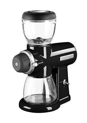 KitchenAid 5KCG0702EOB, ARTISAN Kaffeemühle mit Scheibenmahlwerk, ONYX SCHWARZ