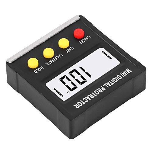 【𝐅𝐫𝐮𝐡𝐥𝐢𝐧𝐠 𝐕𝐞𝐫𝐤𝐚𝐮𝐟 𝐆𝐞𝐬𝐜𝐡𝐞𝐧𝐤】 Winkelmesser, Winkelfinder, Black Electronic für den Bau von Werkzeugen zur Messung der Tischlerei