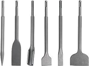 Jerilla SDS Plus-beitelset - 6 stuks Tegelbeitel Elektrische Hamer Boor Bits Betonnen Beitels voor Beton/Bakstenen Muur/Ce...