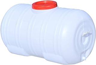 Seaux en Plastique De Grande Capacité, Seaux De Rangement Ménagers avec Couvercles, Contenants d'eau en Polyéthylène De Qu...
