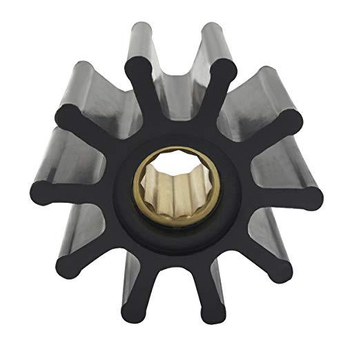 GHmarine Waterpomp Flexibele Rubber Impeller Vervang Jabsco Impeller 17937-0001