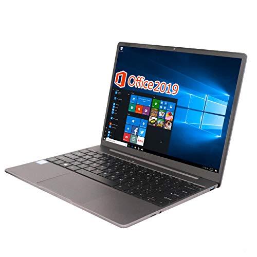 新品薄型ノートPC/wajun(ワジュン) Pro-X12/MS Office 2019/Win 10 Pro/第7世代Core i5-7267U 3.1GHz/メモリー:8GB/SSD:256GB/14型2K( 2160*1440)液晶/Webカメラ/USB 3.0/無線機能/Bluetooth/Type-C/超軽量大容量バッテリー搭載/バックライト付きキーボード(2021年モデル) (SSD:256GB)