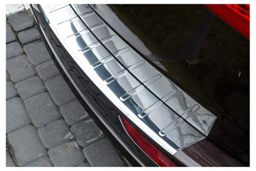 tuning-art 946 Edelstahl Ladekantenschutz für Audi Q5 8R 2008-2016 5 Jahre Garantie