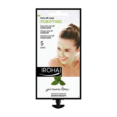 Iroha Nature - Masque visage PURIFICANT PELL-OFF au thé vert et gionkgo