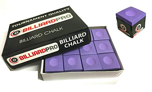 cueball16 12 Pieces/Blocks of PURPLE Tournament Quality Snooker or Pool Cue...