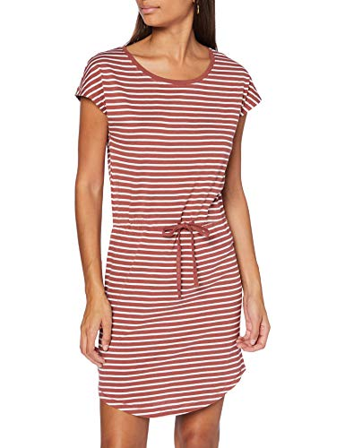 ONLY Womens ONLMAY Life S/S NOOS Casual Dress, Apple Butter, M