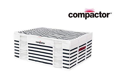 Compactor 【 圧縮ボックス 210L マリン LED付き 18659 】圧縮袋 衣類収納 布団収納 収納袋 掃除機対応