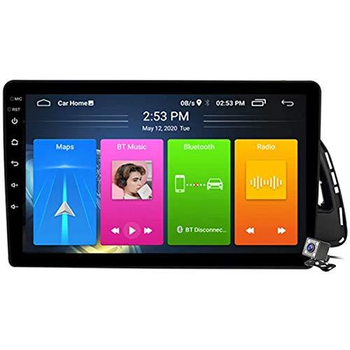 XBRMMM 10.1 Pulgadas Pantalla Táctil 2 DIN Android 9.1 Estéreo para Automóvil para Audi Q5 2010-2017 Radio con Navegación GPS Integrado DSP FM RDS Soporte Bluetooth/SWC/MirrorLink