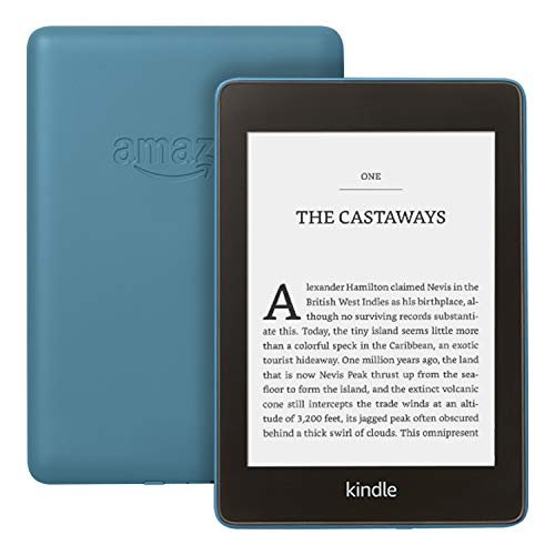 Kindle Paperwhite, Certified Refurbished, 32 GB, Twilight Blue, with Special Offers | Waterproof, 6' High-Resolution Display