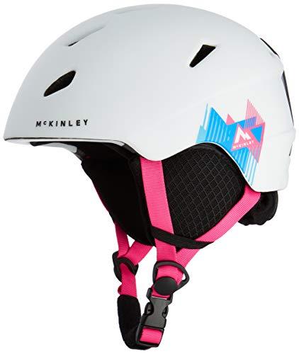 McKinley Jungen Pulse HS-016 Helme, White/Pink, XXS