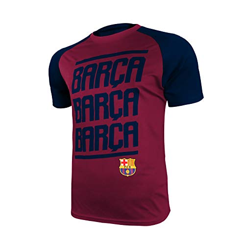 Icon Sports Group FC Barcelona Official Jersey, T-Shirt, Barcelona Jersey -013 M Blue