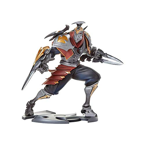 Riot Games Unisex League of Legends Official Statue, Zed Unlocked, One Size