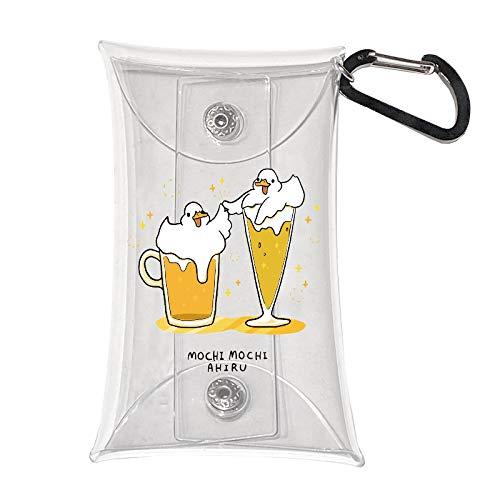 コインケース 【6.5cm×11.5cm】 moca モカ もちもちアヒル あわあわアヒルビール
