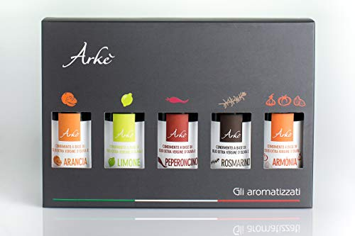 Photo of Arkè The Flavoured Olive Oils  GIFT BOX 5 bottles x 100ml