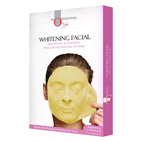 O3+ Brightening & Whitening Facial Kit With Peel Off Mask Suitable For All Skin Types (45g, Single Use Facial Kit)
