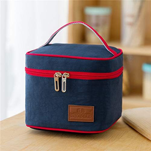 Lunch Bag – Cool Bag for Lunch, Lunch Bag for Adults with Adjustable Shoulder Strap, for Carrying Lunch Box - Lunch Kit for Camping, Fishing, Barbecues,14x17x17cm