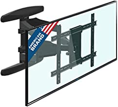 ONKRON TV Wall Mount for Most 42-70 Inch Flat Curved TVs with Swivels, Tilts & Extends 19.7 Inch - Wall Mount TV Bracket VESA 600x400 Fits LED, LCD, OLED, 4K TVs Up to 100 lbs