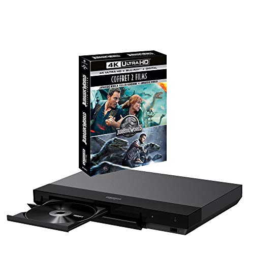 Sony UBP-X700 MULTIREGION Bundle with Jurassic World 2 Movie Collection 2 Ultra HD 4K Blu-ray Disc