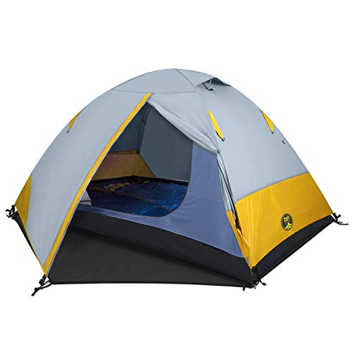 Ai-Uchoice Camping Tents 1 Person Backpacking Tent Mountaineering Tent Lightweight Waterproof for Outdoor Camping Hiking Traveling