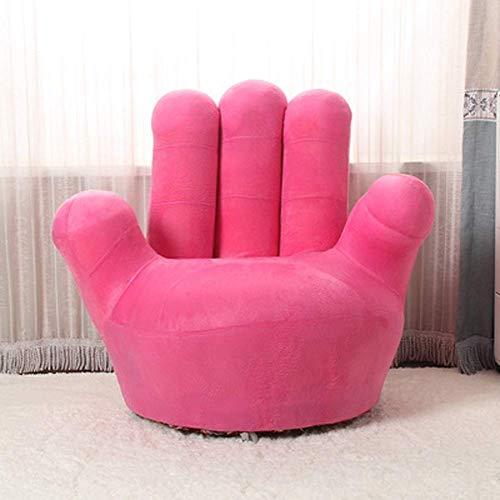 BBRR Kinder-Sofa-Sessel, Baseball-Handschuhform, Finger-Stil, Kleinkind-Sessel, Wohnzimmer-Sitz, Kindermöbel, TV-Sessel, (Farbe: Grün, Größe: 70 cm) 90 cm, Rosa