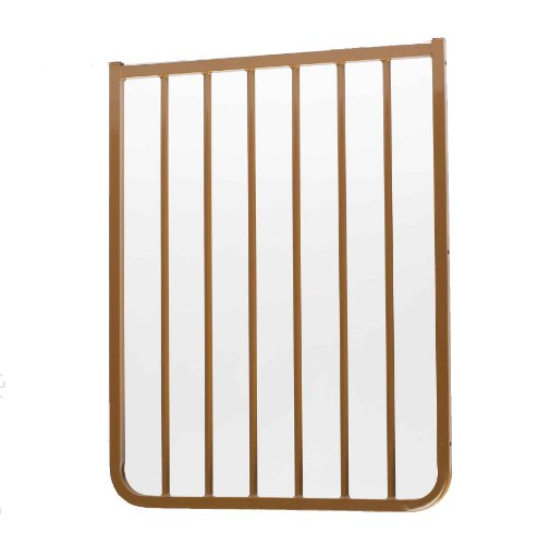 Cardinal Gates Extension for Outdoor Child Safety Gate, Brown, 21.5""