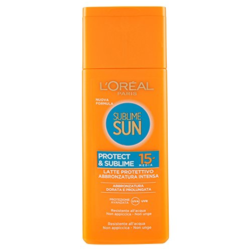 sublime sun protect sublime latte protettivo spf 15 200 ml