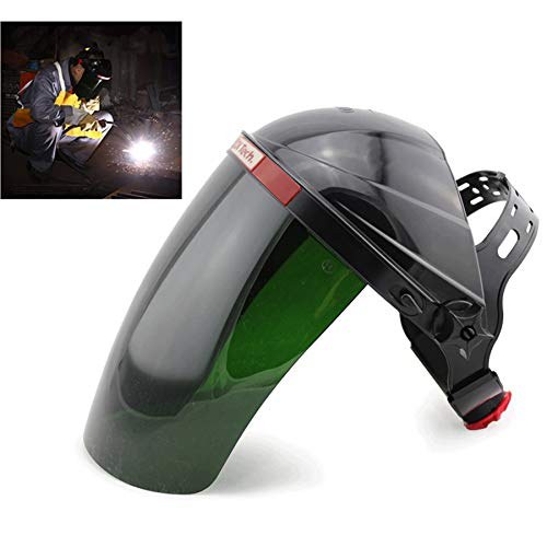 Welding Helmet, Safety Face Shield Head Mounted Welding Masks UV Protective Plasma Cutting Helmet for Argon Arc and Gas Shielded Welding